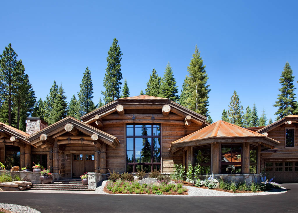 log cabin estate with martis camp lifestyle truckee and