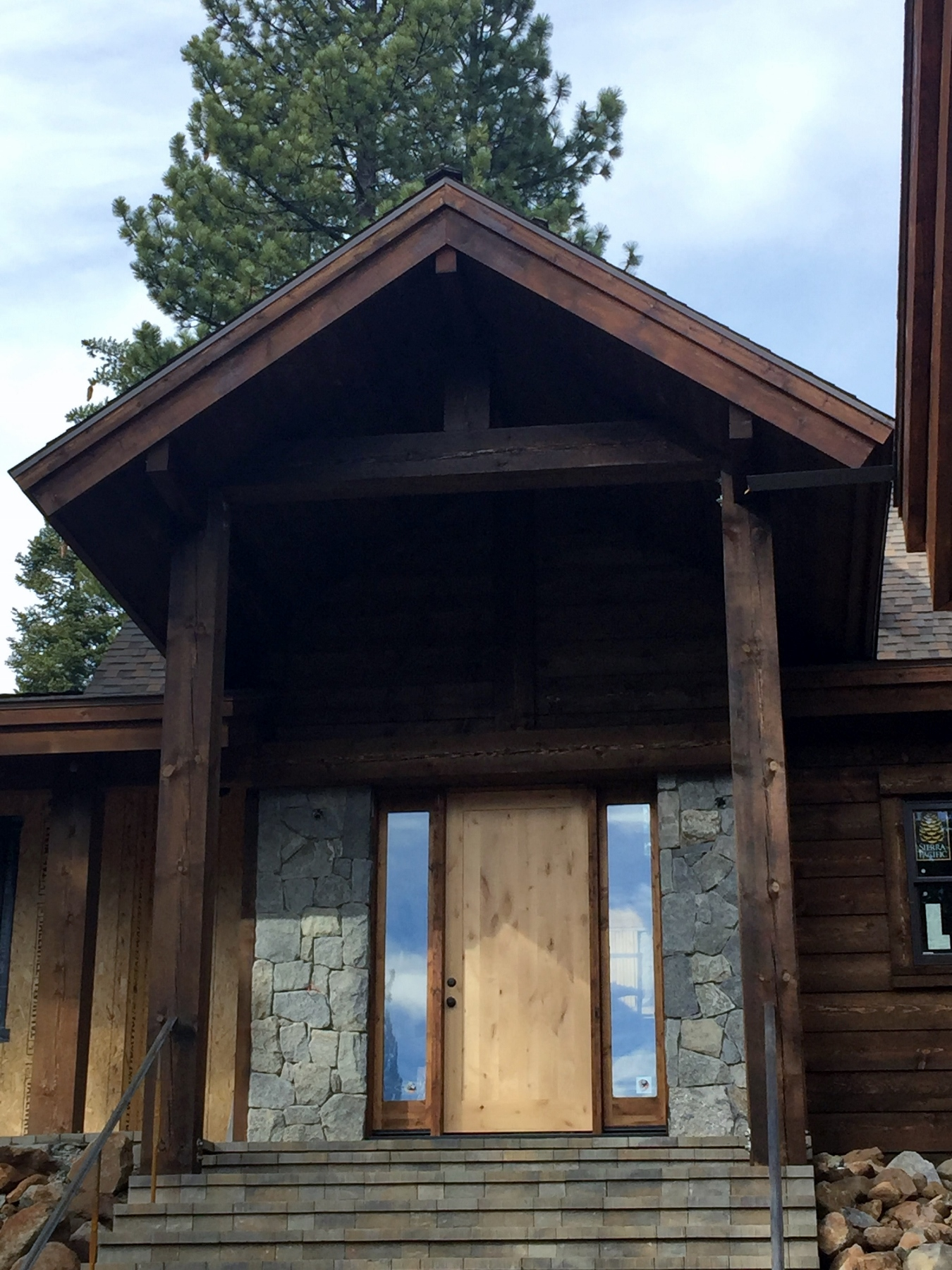 Old Tahoe Ski Lodge Under Construction In Northstar